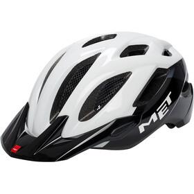 MET Crossover XL Helm white/black